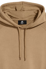 Hooded top with raglan sleeves - Camel - Men | H&M 3