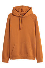 Hooded top with raglan sleeves - Ochre - Men | H&M CN 2