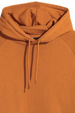 Hooded top with raglan sleeves - Ochre - Men | H&M CN 3