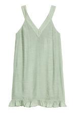 V-neck dress - Dusky green - Ladies | H&M CN 2