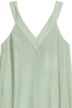 V-neck dress - Dusky green - Ladies | H&M CN 3
