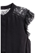 Crêpe blouse - Black - Ladies | H&M IE 3