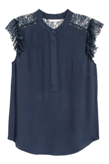 Crepet bluse
