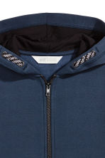Hooded jacket - Dark blue/White - Kids | H&M 3
