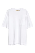 T-shirt with a chest pocket - White - Men | H&M 2