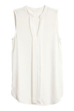 V-neck blouse - White - Ladies | H&M CN 2