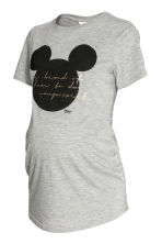 Top - Grey/Mickey Mouse - Ladies | H&M CN 1