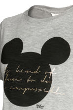 上衣 - Grey/Mickey Mouse - Ladies | H&M 2