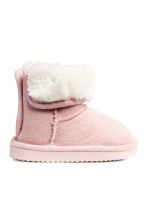 Pile-lined Boots - Pink - Kids | H&M CA 1