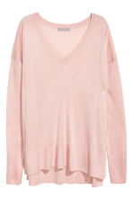 Fine-knit Sweater - Light pink - Ladies | H&M CA 2