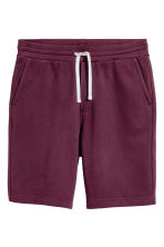 Sweatshirt shorts - Burgundy - Men | H&M 2
