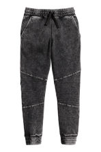 Joggers - Zwart washed out - KINDEREN | H&M BE 2