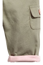 Pull-on trousers - Khaki - Kids | H&M CN 2