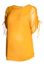 MAMA Chiffon blouse - Mustard yellow - Ladies | H&M 2