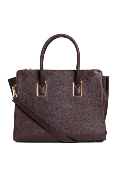 Handbag - Burgundy - Ladies | H&M 1
