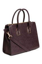 Handbag - Burgundy - Ladies | H&M CA 2