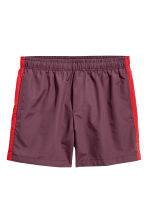 Short swim shorts - Burgundy/Red - Men | H&M 2