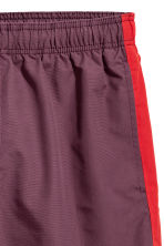 Short swim shorts - Burgundy/Red - Men | H&M 3