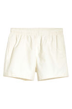 Short swim shorts - Natural white - Men | H&M CN 2