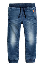 Pantalon jogger Super Soft - Bleu denim -  | H&M CH 2