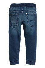 Super Soft jeansjoggers - Donker denimblauw - KINDEREN | H&M BE 2
