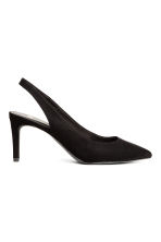 Slingbacks - Black - Ladies | H&M CA 2