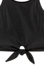 Halterneck bikini top - Black - Ladies | H&M 3