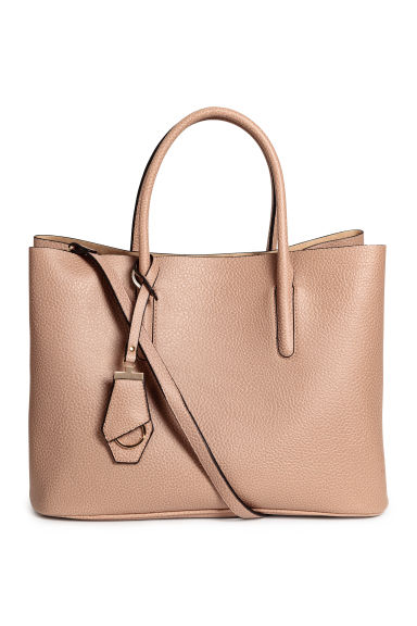 Handbag with keyring - Beige - Ladies | H&M