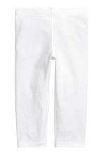 3/4-length leggings - White - Kids | H&M 2