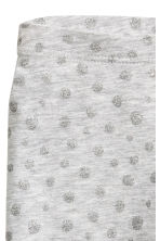 3/4-length leggings - Grey/Glitter - Kids | H&M CN 3