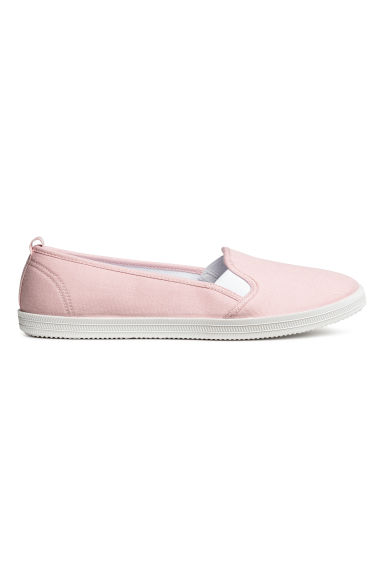 Slip-on trainers - Light pink - Ladies | H&M 1