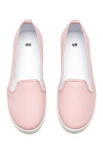 Slip-on trainers - Light pink - Ladies | H&M 2