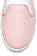Slip-on trainers - Light pink - Ladies | H&M 3