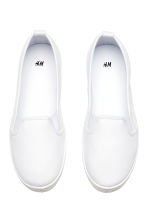 Slip-on trainers - White - Ladies | H&M CN 2