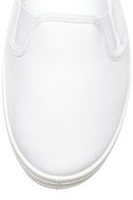 Slip-on trainers - White - Ladies | H&M CN 3
