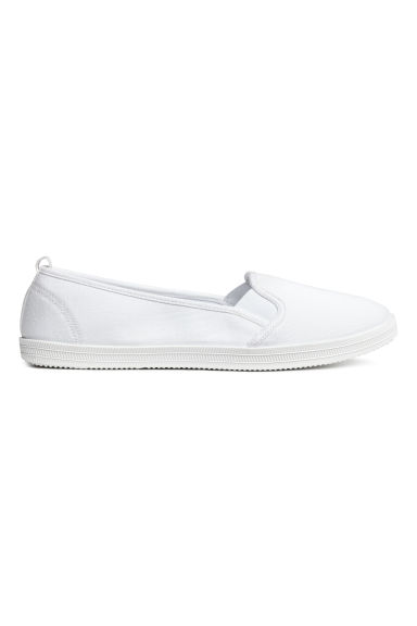Slip-on trainers - White - Ladies | H&M CN 1