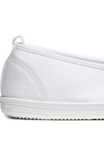 Slip on-sneakers - Vit - DAM | H&M FI 4
