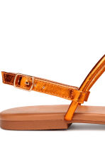 Toe-post sandals - Orange/Metallic - Ladies | H&M IE 3