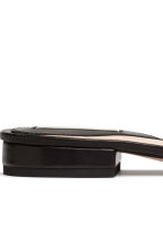 Leather slides - Black - Ladies | H&M 5