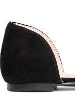 Pointed flats with a bow - Black - Ladies | H&M CA 4