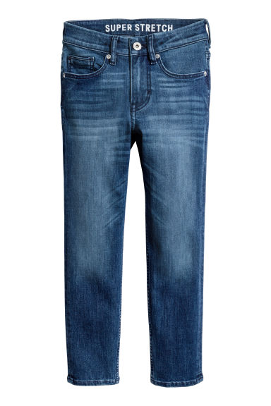 Superstretch Skinny Fit Jeans - 丹寧藍 - Kids | H&M 1