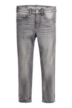 Superstretch Skinny Fit Jeans - Grey washed out -  | H&M 2