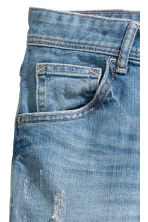 Relaxed Tapered Worn Jeans - Denim blue - Kids | H&M 4
