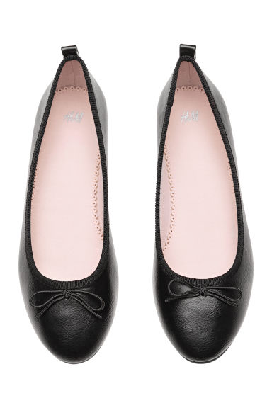 Ballet pumps - Black - Kids | H&M 1
