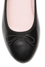 Ballet pumps - Black - Kids | H&M 4
