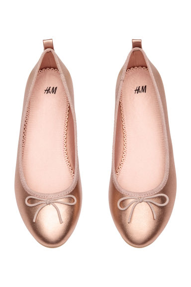 Ballet pumps - Rose gold-coloured - Kids | H&M CN 1