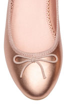 Ballet pumps - Rose gold-coloured - Kids | H&M CN 4