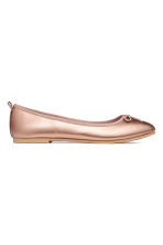 Ballet pumps - Rose gold-coloured - Kids | H&M CN 2