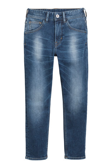Relaxed Tapered fit Jeans - Denimblå - BARN | H&M FI
