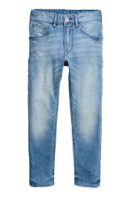 Relaxed Tapered fit Jeans - 浅牛仔蓝 - Kids | H&M CN 2